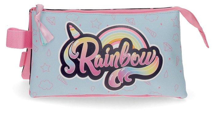 Estuche movom rainbow tres compartimentos