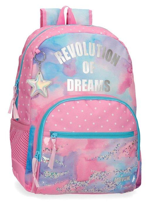 Mochila escolar movom revolution dreams adaptable