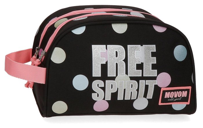 Neceser movom free dots doble compartimento adaptable