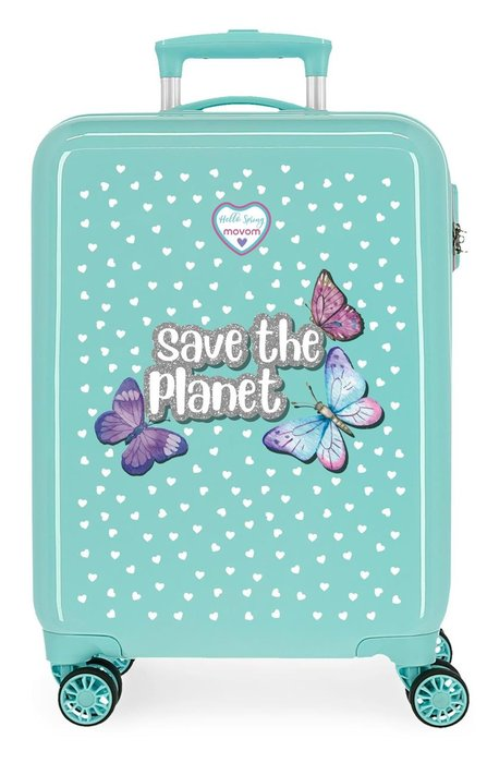 Maleta de cabina movom save the planet rigida 55cm