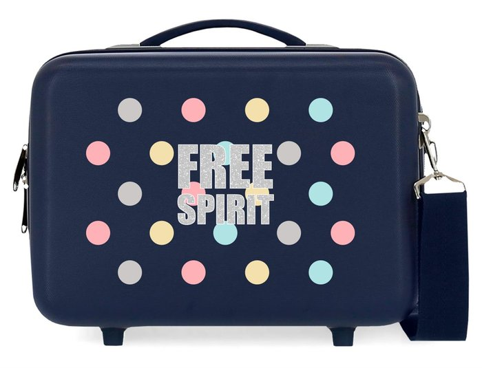 Neceser abs movom free dots azul marino