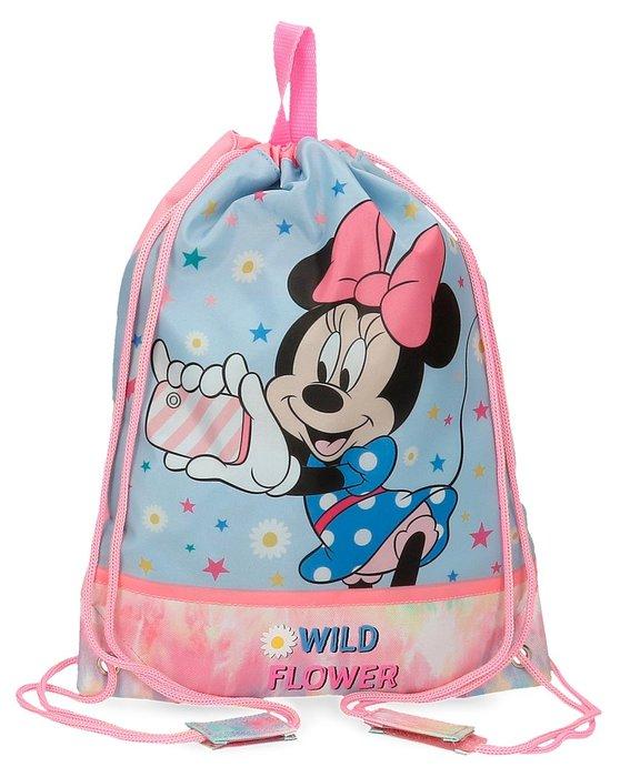 Bolsa saco de cuerdas minnie wild flower