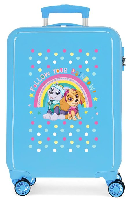 Maleta de cabina patrulla canina follow your rainbow rigida