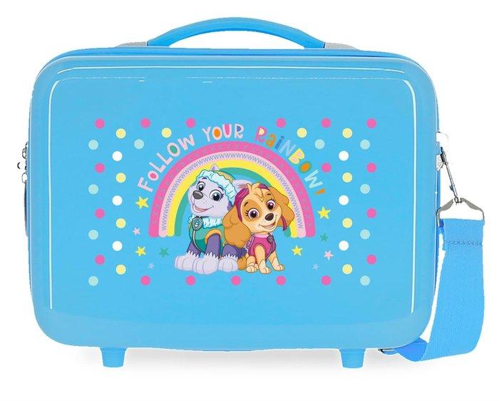 Neceser abs patrulla canina follow your rainbow adaptable az