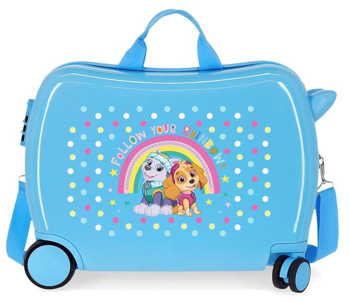 Maleta infantil patrulla canina follow your rainbow 2 ruedas
