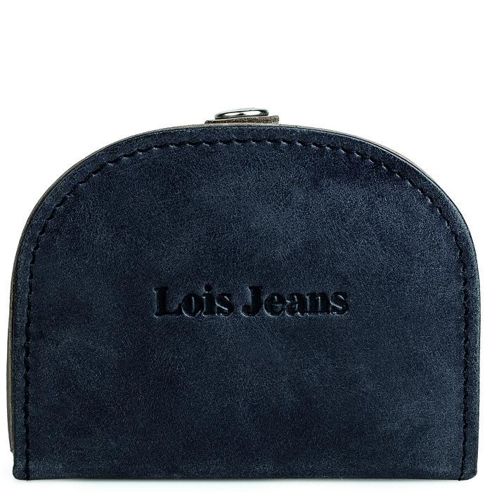 Monedero hombre con clip lois jeans knight negro