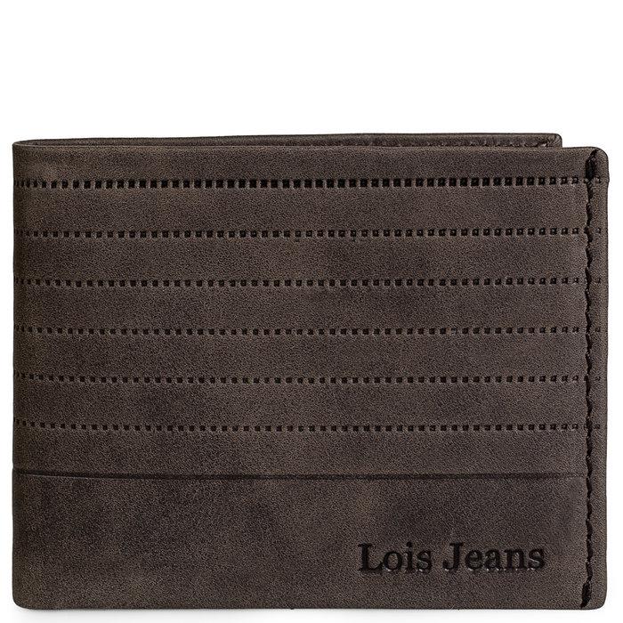 Cartera hombre lois jeans knight marron
