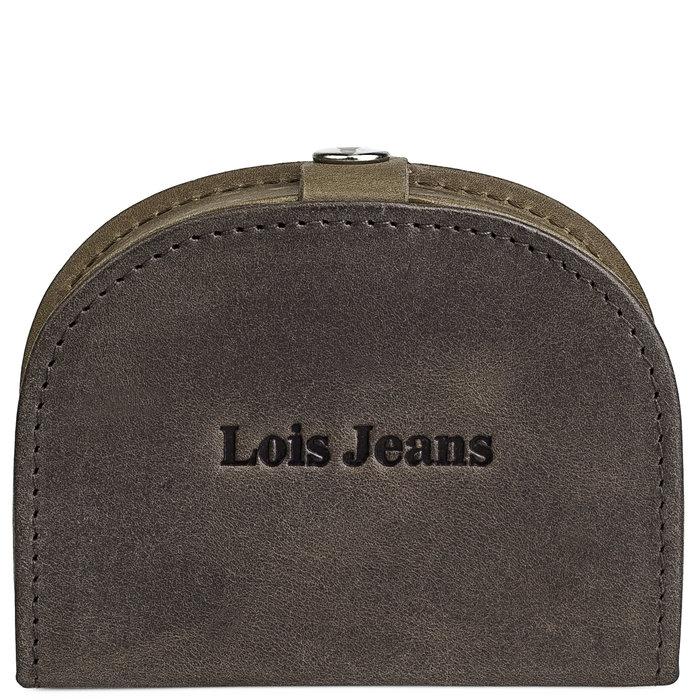 Monedero hombre con clip lois jeans knight marron