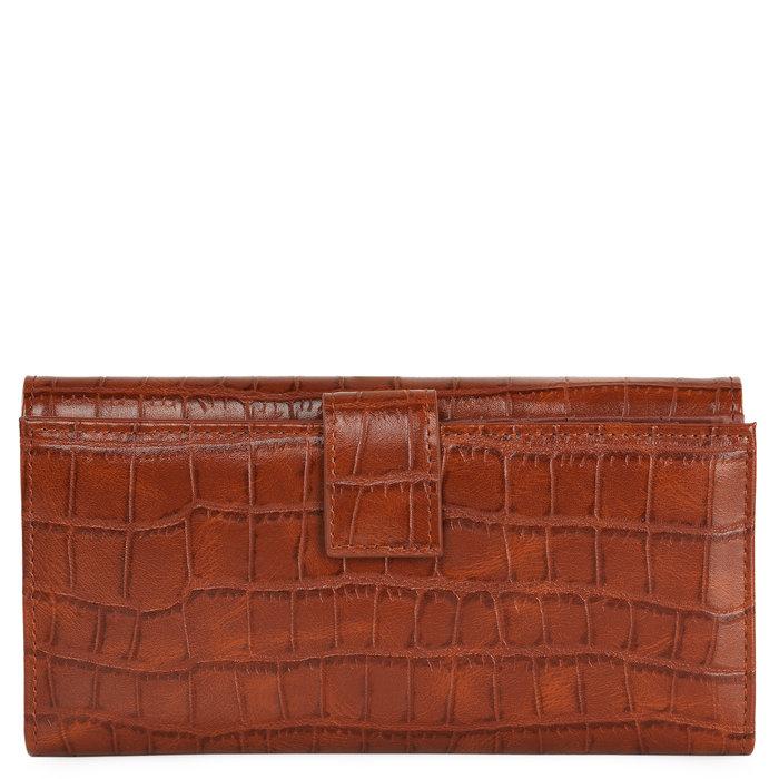 Cartera billetera mujer coco marron