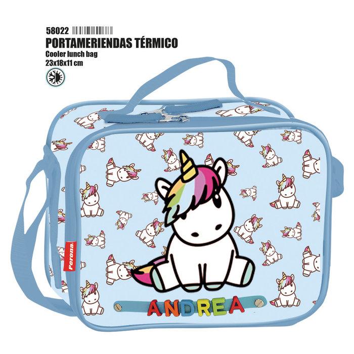 Portameriendas termico pr unicorn