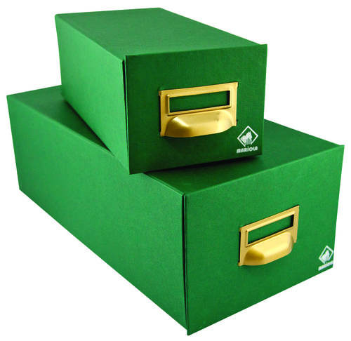 Fichero 125x95x350 carton forrado geltex nº 1 1000 fichas