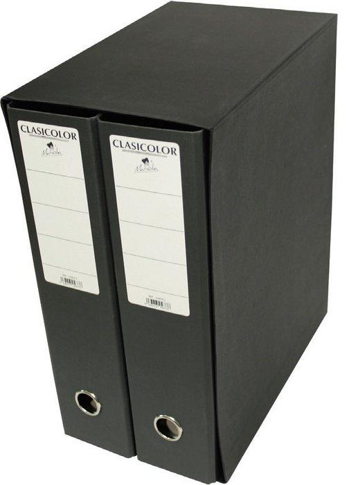Modulo carpeta geltex 2 archivadores verde