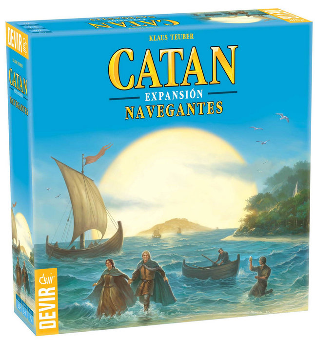 Juego de mesa navegantes de catan