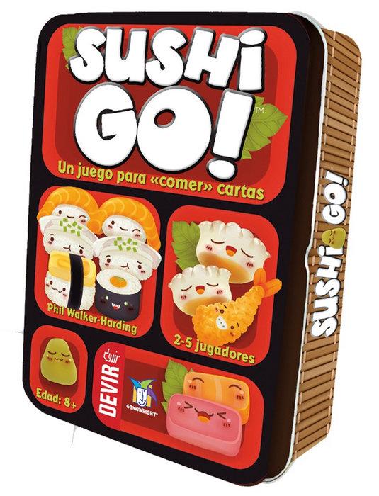 Juego de mesa sushi go