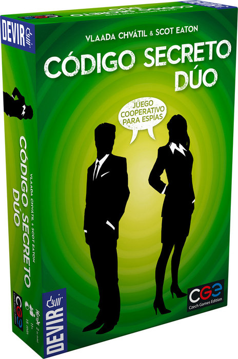 Juego de mesa codigo secreto duo