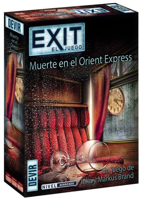 Juego de mesa exit orient express