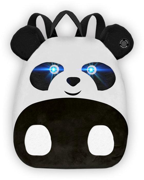 Mochila infantil panda con luz y sonido 25 x 30 x 10 cm