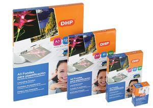 Funda plastificar dhp 125mic tarjeta credito 54x86mm c/100