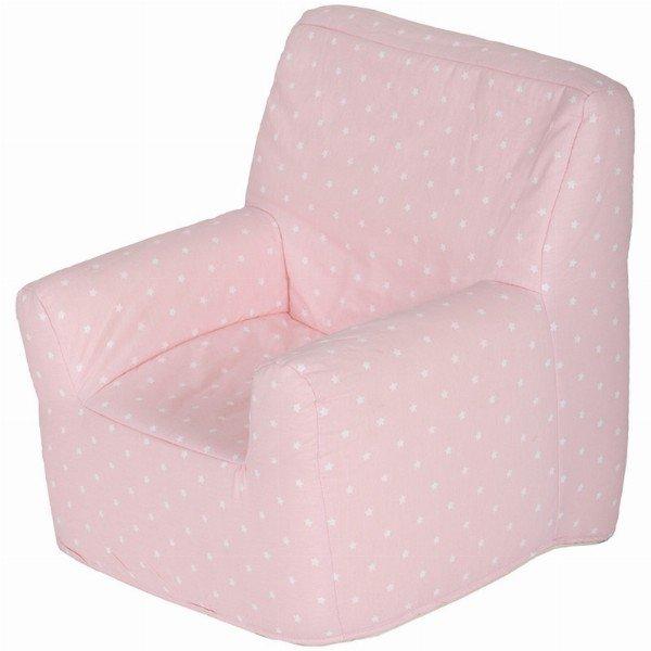 Sofa stars rosa