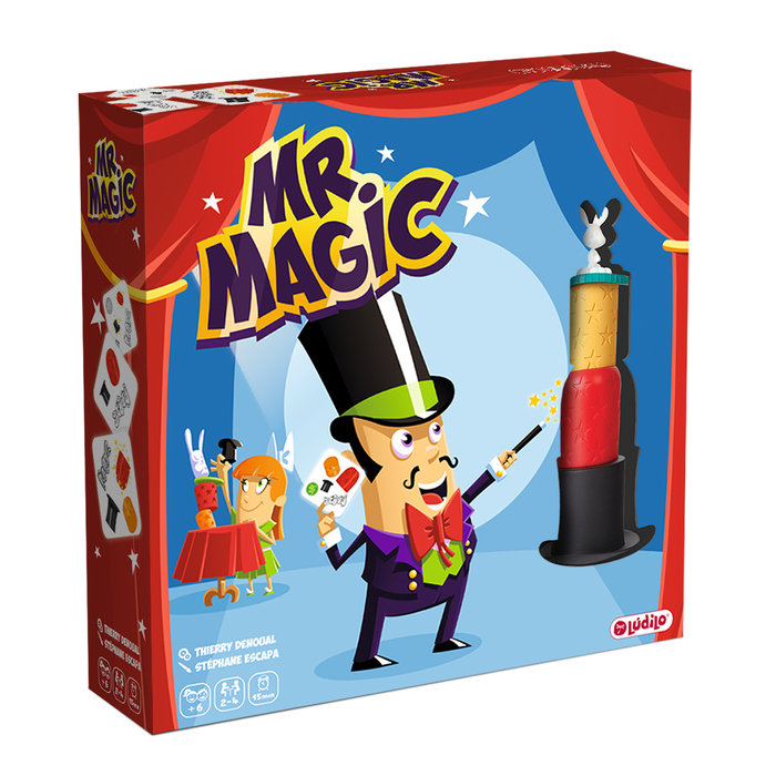 Juego de mesa mr. magic