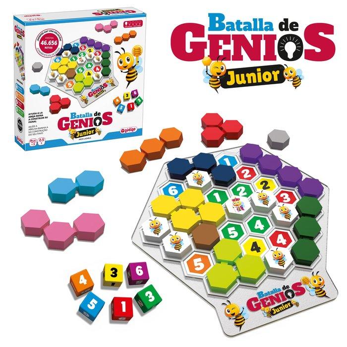 Juego batalla de genios jr.