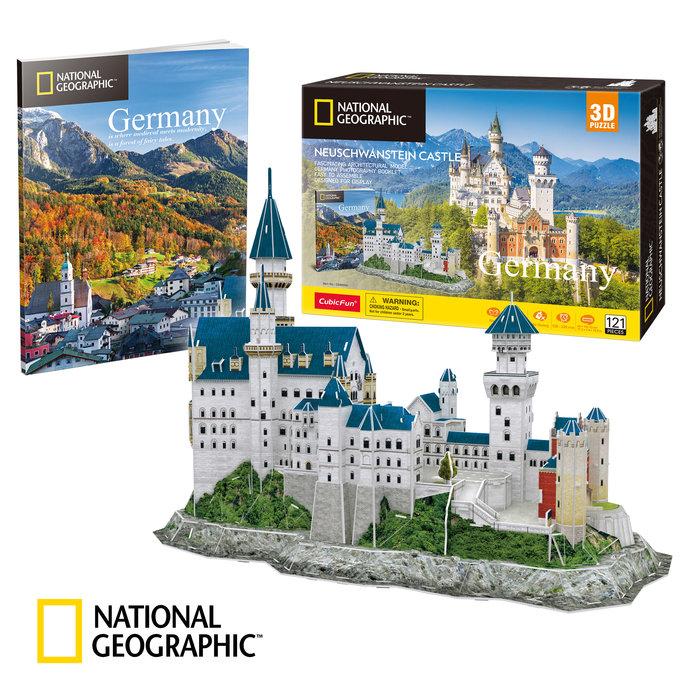 Puzzle 3d castillo neuschawanstein