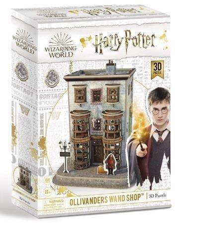 Puzzle 3d harry potter tienda de varitas de ollivanders
