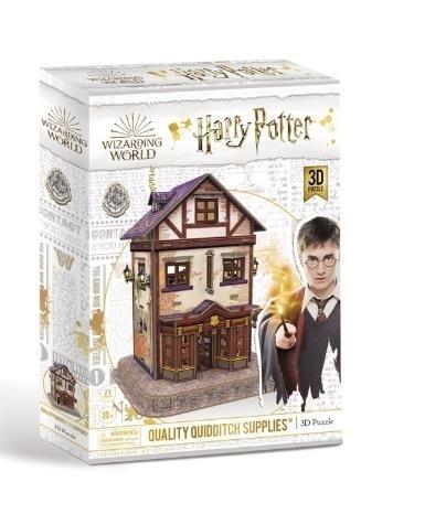 Puzzle 3d harry potter tienda de articulos de quidditch
