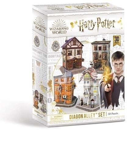 Puzzle 3d harry potter callejon diagon