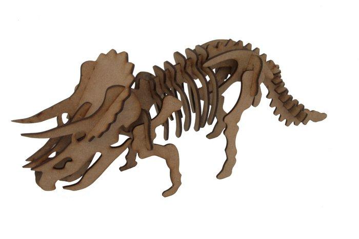 Maqueta triceratops 3d 2pl d2