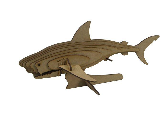 Maqueta tiburon  3d 2pl d2