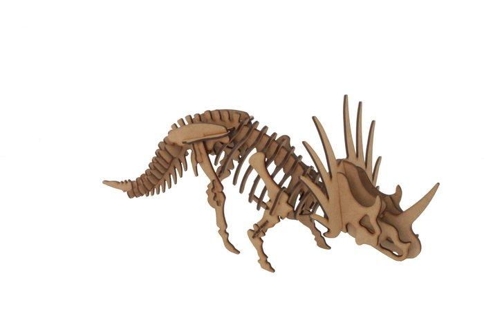 Maqueta styracosaurus 3d pocket 3pl d3