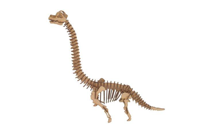 Maqueta brachiosaurus 3d pocket 3pl d4