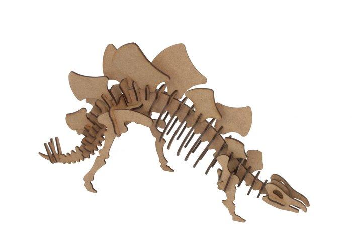 Maqueta stegosaurus 3d pocket 3pl d3
