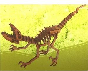 Deinonychus con maqueta 3d pocket 2pl d2