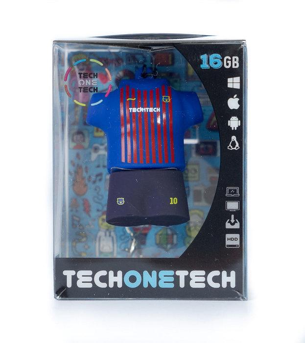 Memoria usb 16 gb pendrive equipacion futbol blau-grana