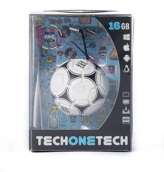 Memoria usb 16 gb pendrive balon de futbol gol-one
