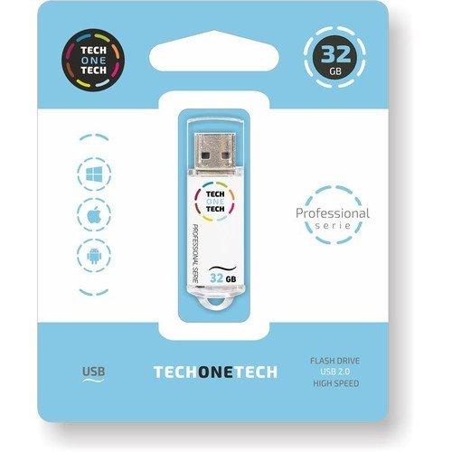 Pendrive blanco pro tech 32 gb