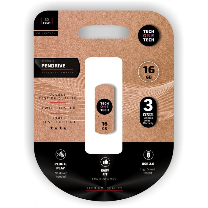 Memoria usb 16 gb pendrive pro smart cliptech