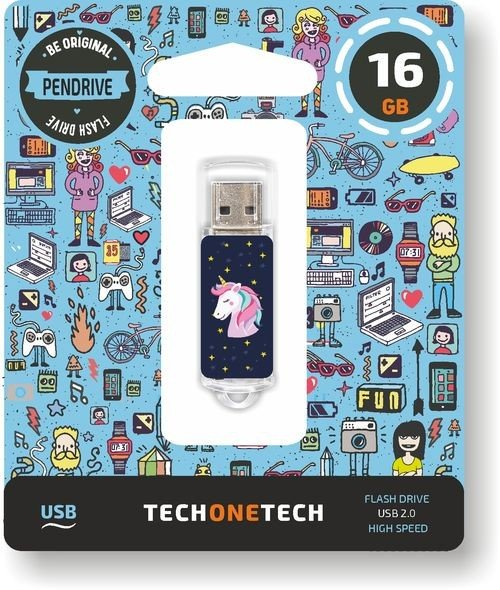 Pendrive 16 gb unicornio dream