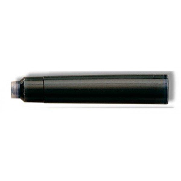 Recambio pluma inoxcrom c/6 negro