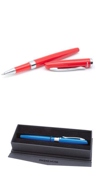 Boligrafo roller prime rojo