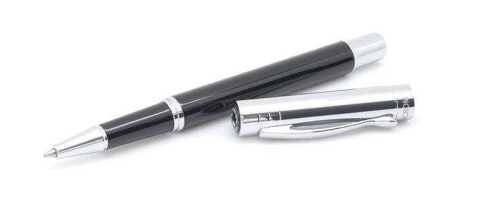 Boligrafo roller vista negro