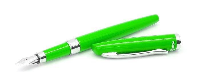 Juego pluma y roler prime verde