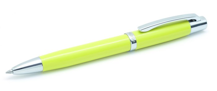 Boligrafo arc amarillo pera