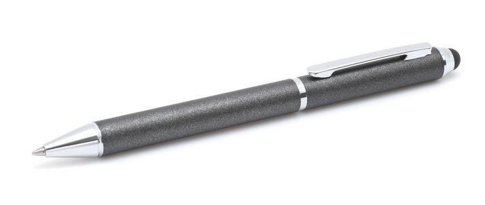 Boligrafo inoxcrom touch negro metal