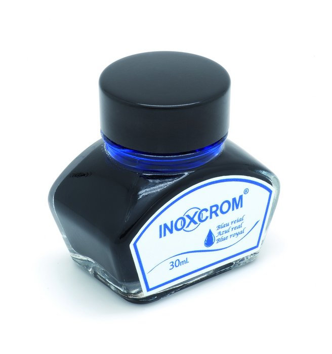 Tintero tinta azul