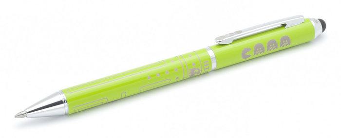 Boligrafo touch comecocos verde