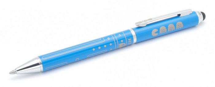 Boligrafo touch comecocos azul
