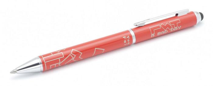 Boligrafo touch bricks rojo